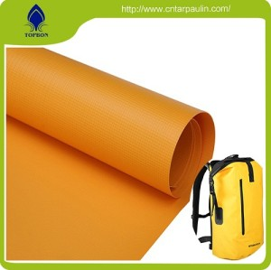 High Tenacity Polyester Fabric Pvc Coated Tarpaulins