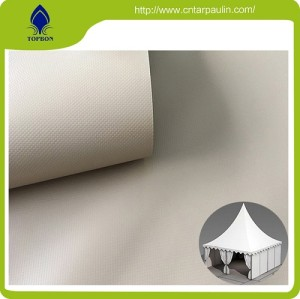 Pvc Coated Waterproof Awning Fabric