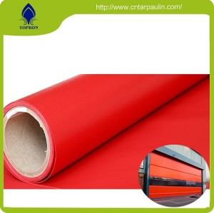 Waterproof Double Side Pvc Coated Fabric