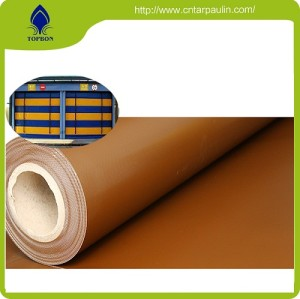 PVC Waterproof Fabric For Door Fabric