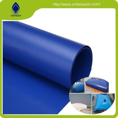 PVC coated polyester tarpaulin fabric for water tank