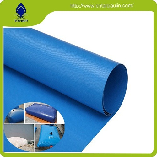 650gsm PVC coated polyester tarpaulin fabric for water tank