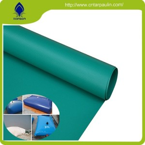 high strength PVC coated tarpaulin fabric for water tank