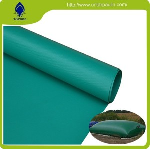 Different size pvc coated water tank tarpaulin fabric