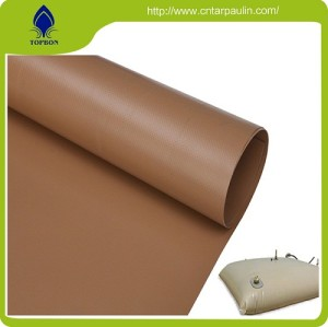plastic blow for water tank poly tarp fabric