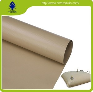 swimming pool and water tank PVC fabric