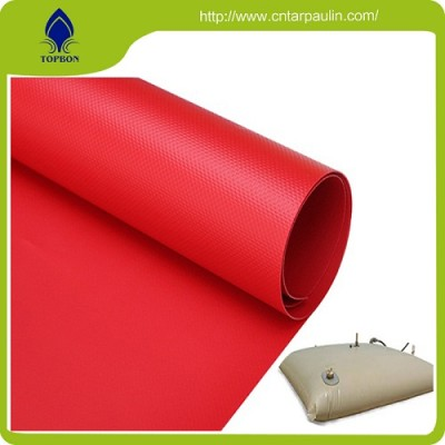 Heavy duty water tank PVC waterproof tarpaulin accept custom order