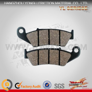 YL-F050 Motorcycle brake pads for YBA125, NXR 125 High performance Parts Disc Motorcycle Brake Pads
