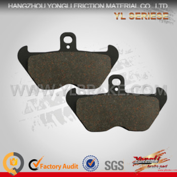 YL-F054 Chinese Manufacturer Excellent Material Brake Pads In Guangzhou Motorcycle Parts