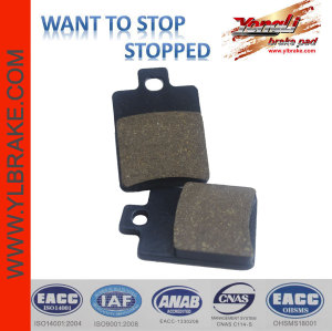 YL-F043 Good Quality Hot Selling Motorcycle Brake System Parts Good friction motorcycle brake part oem brake pads for PIAGGIO- Zip 50