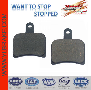 YL-F076 High quality brake pads motorcycle spare parts thailand/china motorcycle spare parts
