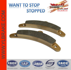 YL-F185 go kart brake pads for racing applicable for go kart Birel Front best quality and performance regenerative braking controller
