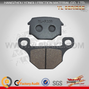 YL-F001 Performance brake pad electric scooter spare parts for SUZUKI- GS 125/ GX 125/ SJ 125 Very Durable Low wear rate Oem Quality Motorcyle Parts