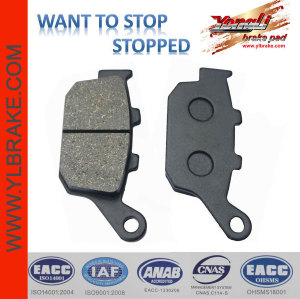YL-F033 very durable Low noise Brake Pads Production Line motorcycle rear sets/brake pad