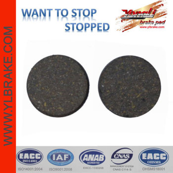 YL-1005 brake pads for PROMAX Hidraulic Road Alternative bicycle brake pads