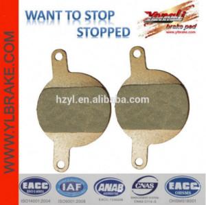YL-1047 Giant for Women MTB brake pads for HOPE O2 (2 pistons)