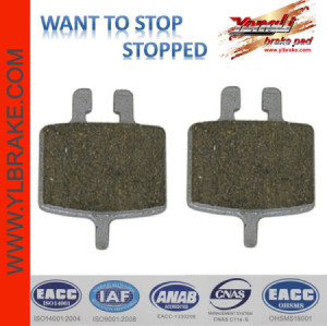 YL-1008 MTB Leisure bicycle brake pads for FORMULA Oro 24K