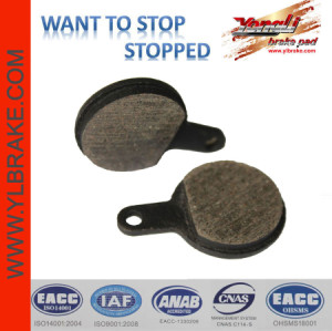 YL-1012 Urban & Path bicycle brake pads for MAGURA Clara (01-02)