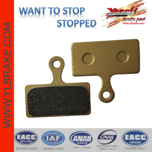 YL-1020 with kevlar fiber MTB brake pads for AVID BB5