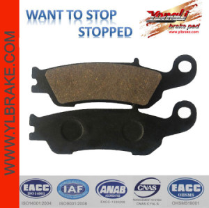 YL-F160 brake pad for YAMAHA-YZ 125