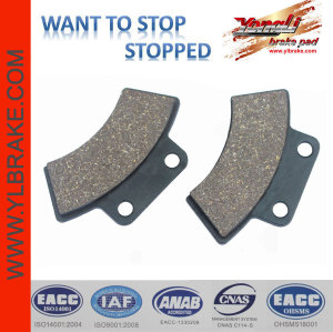 YL-F045 Low wear rate chinese  ATV / UTV Brake pads