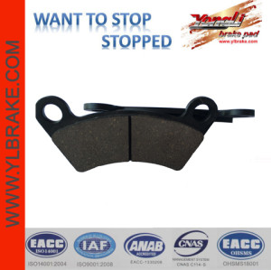 YL-F063 quality and performance China Supplier Factory Provide Directly ATV/UTV Brake Pads