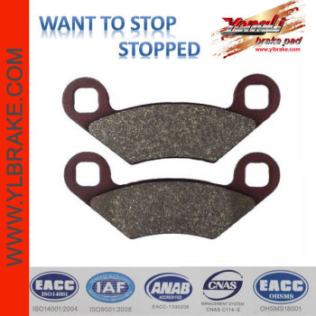 YL-F065 OEM quality and performance China Supplier Factory Provide Directly ATV/UTV Brake Pads