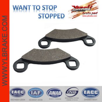 YL-F081 Professional spare part brake pads for ATV/UTV