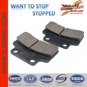 YL-F011   YL-F011 dirt bike scooter motorcycles brake pad,scooter motorcycle wheels parts brake pads KYMCO- Heroism 125