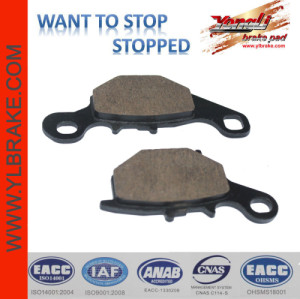 YL-F014 Low wear rate Brake Pads SUZUKI-DR-Z 125