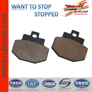 YL-F070 Scooter brake pad for PIAGGIO/benelli motorcycles