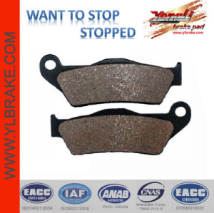 YL-F073 Promotional Prices OEM 2017 Brake Pad Motorcycle semi-metallic brake block for motorcycle spare part