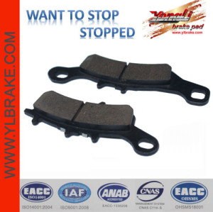YL-F074 Competitive Price Factory Customized Brake Pad Material for motorcycle