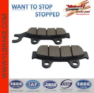 YL-F079 brake disc pad,Top quality Semi-meta motorcycle chinese