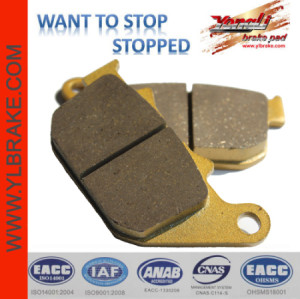 YL-F084 Compact Low Price Brake Pads Aftermarket Motorcycle Parts