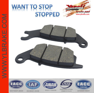 YL-F086 High quality motorcycle brake pads for  KRZ REAR