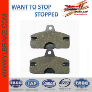 Competitive Price Factory Customized Brake Pad Material for motorcycle YL-F088 Excellent good performance disc brake pads