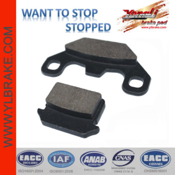 YL-F091 Compact good Quality Brake Pads Motorcycle Accessories for Lifan