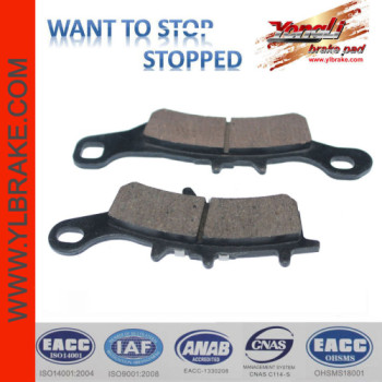 YL-F096 Very Durable Low wear rate Sintered Disc Brake Pad