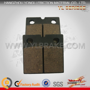 YL-F100 New Products china brake pads for Scooter