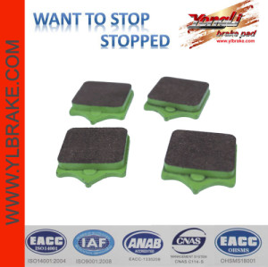 YL-F104 Disc friendly No asbestos Brake Pad Attachment ISO 9001 Low wear rate Brake Pad Malaysia