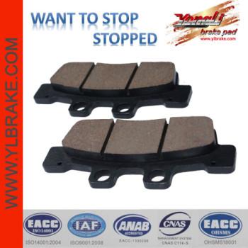 YL-F105 brake pad for YAMAHA NCX 125K/125L/YW125X/SYM-SB250N