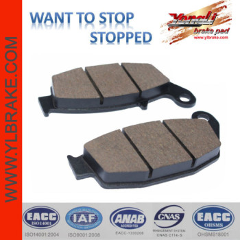 YL-F110 Competitive Price Factory Customized Brake Pad Material for motorcycle