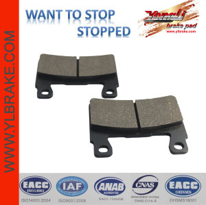 YL-F112 No Asbestos Performance Friction Brake Pads For Sale