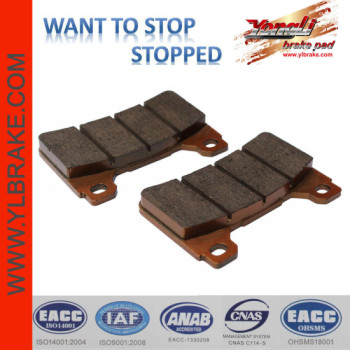 YL-F114 Performance brake pads for HONDA cbR 1000