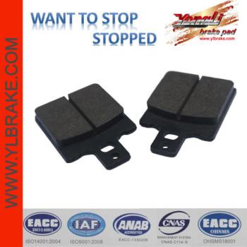 YL-F116 OEM High Quality motorcycle brake pad