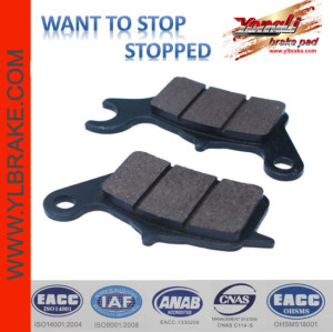 YL-F117 Hot selling High Quality sintered motorcycle brake pads