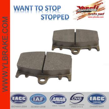 YL-F120 factory supply organic motorcycle brake pad