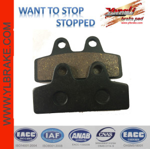 YL-F122 China quality spare part scooter brake pad