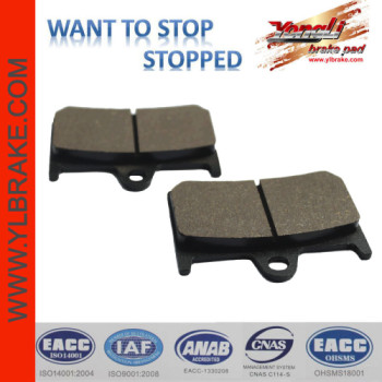 YL-F129 Competitive Price Copper-Based Disc Sintered Brake Pads